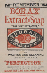 Advert For Borax, Extract Of Soap